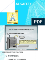 2 ELECTRICAL SAFETY, Selection of Work Practices