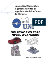 Manual SolidWorks Avanzado 2016