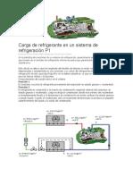 Carga de Refrigerante en Un Sistema de Refrigeración P1