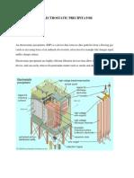 Electrostatic Precipitator Report