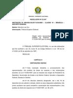 RESOLUÇÃO Nº 23.547 Instrucao Representacoes Reclamacoes e Pedidos de Resposta 2018