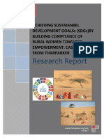 Research Report - Spo- Achieving Sustaianbel Development Goalss (Sdgs) 2017