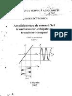 Amplificatoare de semnal Partea I.pdf