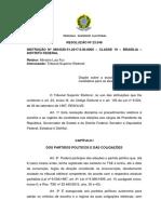 RESOLUÇÃO Nº 23.548 - Escolha e Registro de Candidatos Eleições 2018