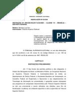 RESOLUÇÃO Nº 23.550 Assinatura Digital e Lacracao
