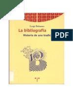 Balsamo LaBibliografia