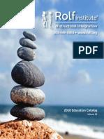 2018 Rolf Institute Education Catalog