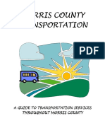 Morris County Transportation Guide