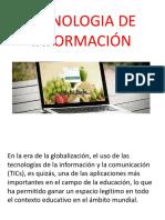 Tecnologia de Información