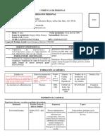 Formato CV Docentes Para Contratación FLM