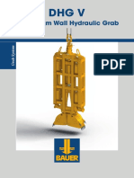 Bauer_diaphram Wall Rigs & Acc_grab_dhg Hydraulic Grabs