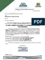 Nº 01 El Rol Comite Electoral y Asamblea General Eleccionaria Macroregion Sur Enero 2018