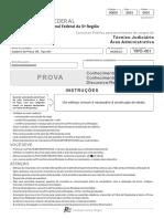 Fcc 2017 Trf 5 Regiao Tecnico Judiciario Area Administrativa Prova