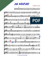 2da Trumpet-UNA AVENTURA - 2da-Trompeta en Sib