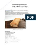Bolo Salgado Francês - Paladar