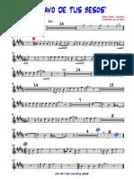 ESCLAVO de TUS BESOS-2da Trumpet - 1ra-Trompeta en Sib