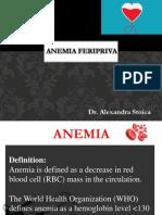 Anemia feripriva