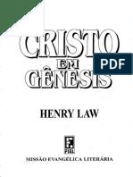 Cristo Em Genesis