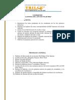 Comisiones Fin de Año 2016