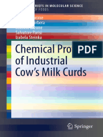 (SpringerBriefs in Molecular Science) Caterina Barone, Marcella Barbera, Michele Barone, Salvatore Parisi, Izabela Steinka (Auth.)-Chemical Profiles of Industrial Cow's Milk Curds-Springer Internation