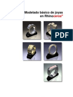 Modelado básico de joyas en Rhino