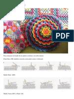 Cojín en Crochet