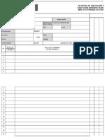 Registro de Evaluacion Notas