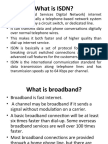 What is ISDN
