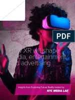 How XR will shape media