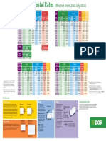 Chart Guide to Postal Rates an Post