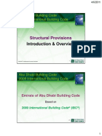 2009 IBC Structural - 2 Hour Overview