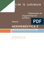 Hermenéutica e Interpretación Jurídica