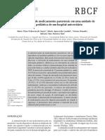 Estudo de Utilização de Medicamentos Parenterais Na Uip