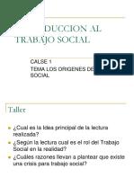 Introduccion Al Trabajo Social Clase 1.Ppt