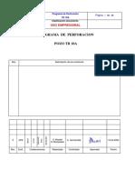 ProgramadeperforacionTR18A Español