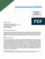 TEA Communication to Marlin ISD 01 22 18