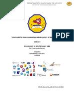 Lenguajes de Programación y Manejadores de Bases de Datos
