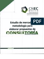 Estudio Para Elaborar Propuestas de Consultoria 2012