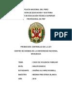 Monografia en Español - Caso de Violencia Familiar - Dueñas