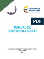 Manual Convivencia 2017 Colcomfa