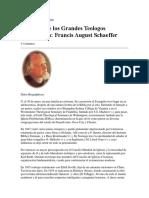 Biografia de Los Grandes Teologos Reformados Francis August Schaeffer
