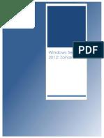 Windows Server 2012 Zonas DNS 2012