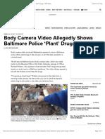 Body Camera Video
