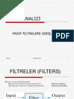 DA Bölüm 14 Pasif Filtreler