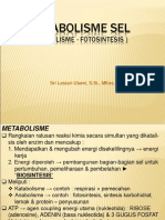 Presentasi Kuliah III-Metabolisme Sel (Fotosintesis)