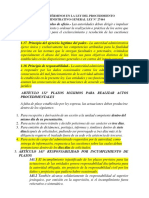 PLAZOS Y TÉRMINOS EN LA LEY DEL PROCEDIMIENTO ADMINISTRATIVO GENERAL LEY N.docx
