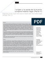 Diagnóstico Del Origen y La Causa de La Muerte II