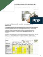 Boliviaimpuestos.com-Formato de Rendicion de Cuentas Con Impuestos de Retenciones