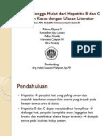 Manifestasi Rongga Mulut Dari Hepatitis B Dan C