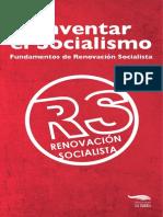 Reinventar el Socialismo - Fundamentos de Renovación Socialista